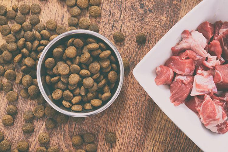 viande fraîche viande déshydratée